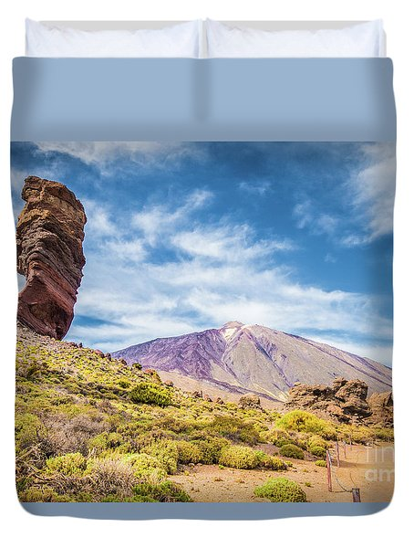 Tenerife Duvet Cover by JR Photography
