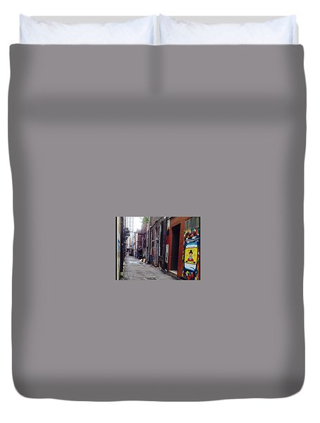 Tennessee Alley Duvet Cover