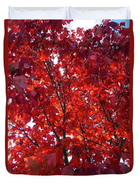 Tennessee Trees 3 Duvet Cover