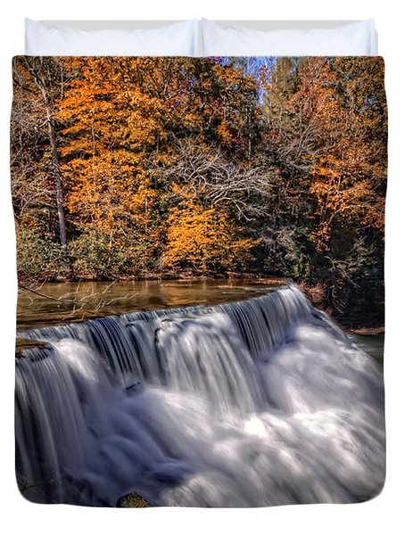 Tennessee Waterfall Duvet Cover