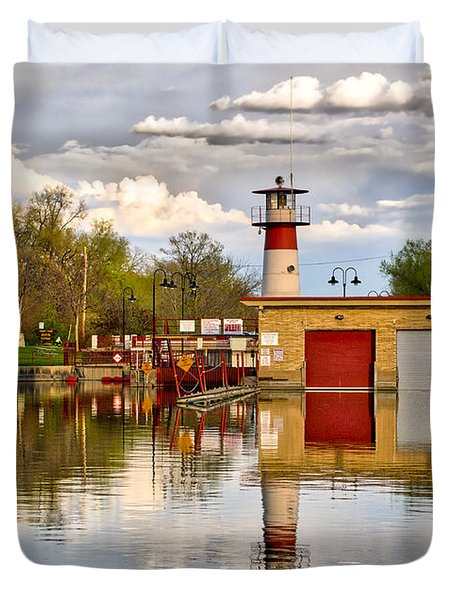 Tenney Lock - Madison - Wisconsin Duvet Cover