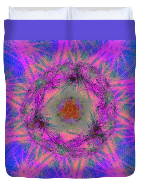 Tenographs Duvet Cover