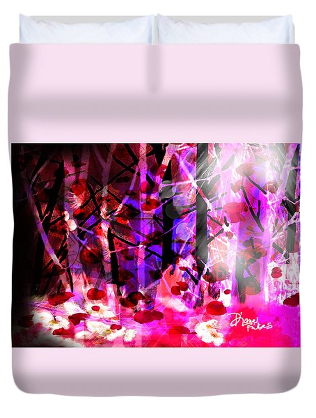 Tentative Hope Duvet Cover