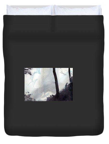 Tequendama Falls Duvet Cover