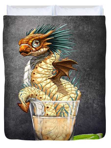 Tequila Wyrm Duvet Cover