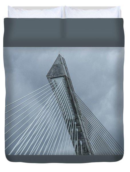 Terenez Bridge II Duvet Cover