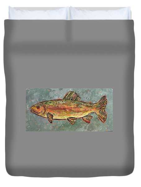 Teresa The Trout Duvet Cover