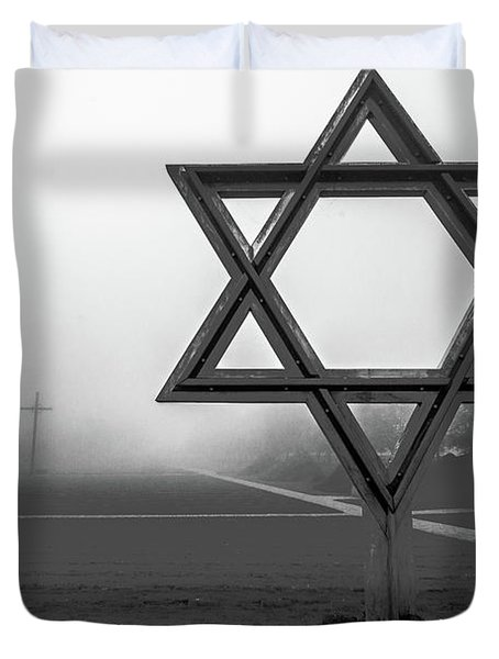 Terezin  Memorial Duvet Cover