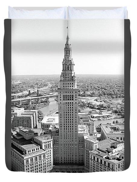 Terminal Tower Ca. 2015 Duvet Cover