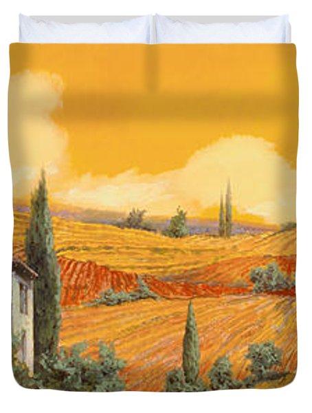 terra di Siena Duvet Cover
