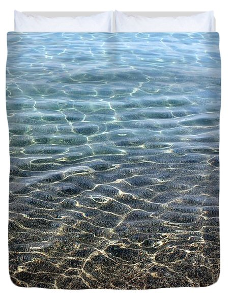Terrace Bay Duvet Cover by Pat Purdy