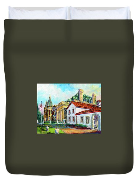 Terrace Villas Duvet Cover