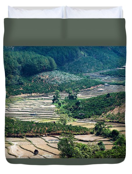 Terraces Duvet Cover