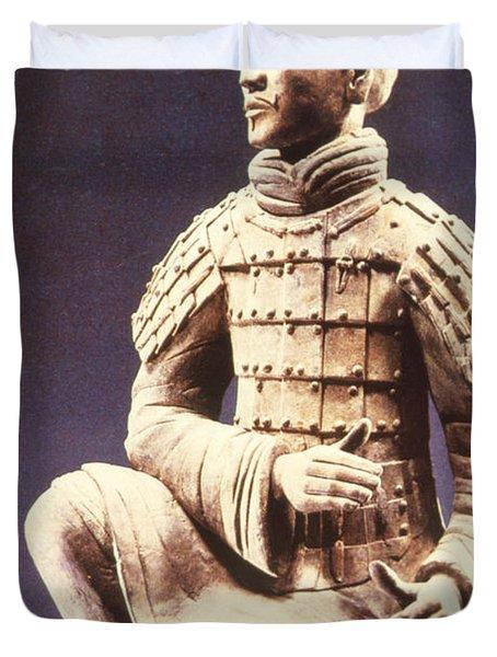 Terracotta Soldier Duvet Cover