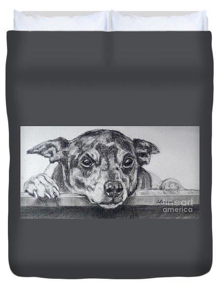 Terrier Attitude Duvet Cover