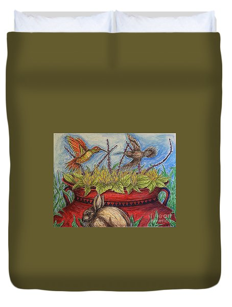 Territorial Rights Duvet Cover