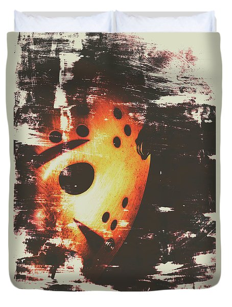 Terror On The Ice Duvet Cover by Jorgo Photography - Wall Art Gallery