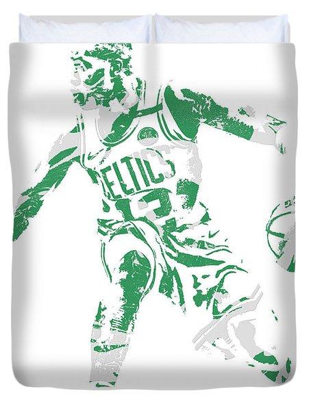 Terry Rozier Boston Celtics Pixel Art 13 Duvet Cover