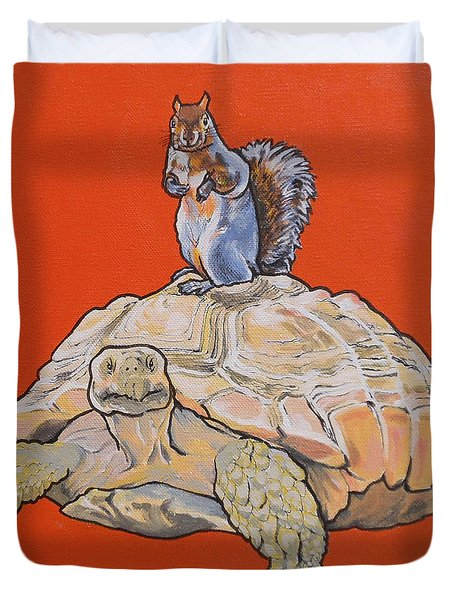 Terwilliger The Turtle Duvet Cover