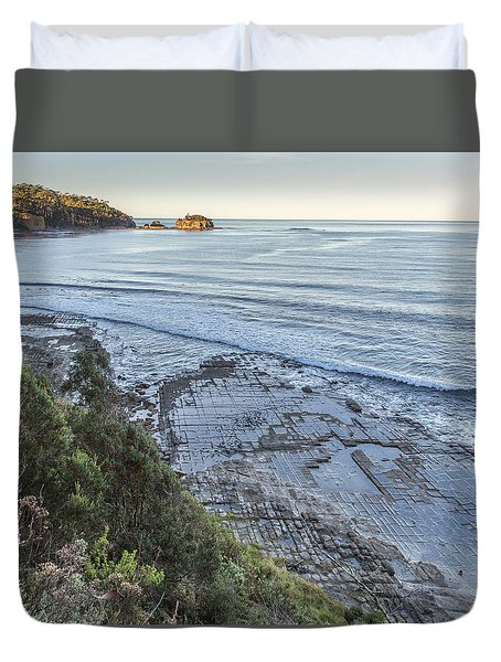 Tessellated Pavement Duvet Cover