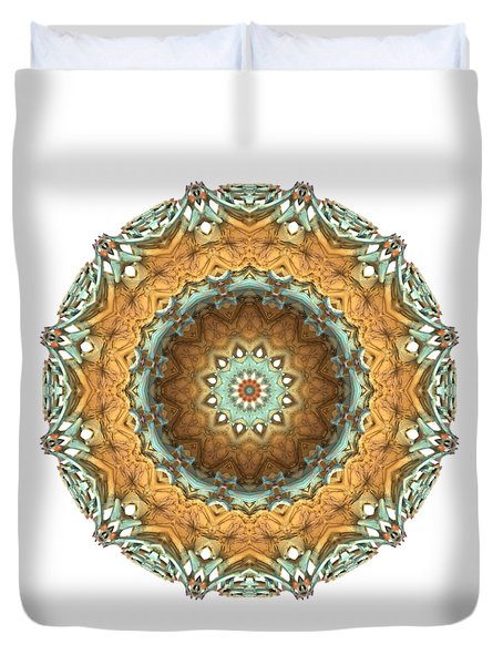 Duvet Cover featuring the digital art Test by Lyle Hatch