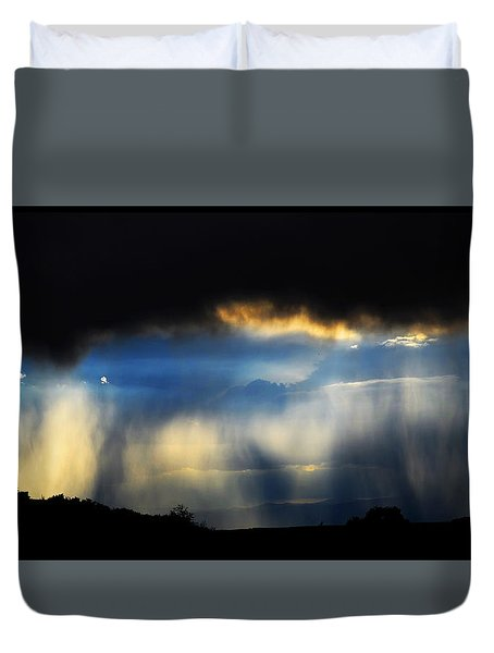 Tesuque Weather Vistas Duvet Cover