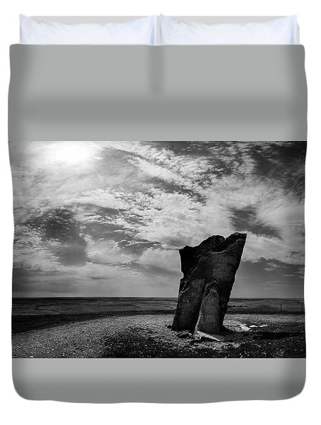 Teter Rock Hill Top View Duvet Cover