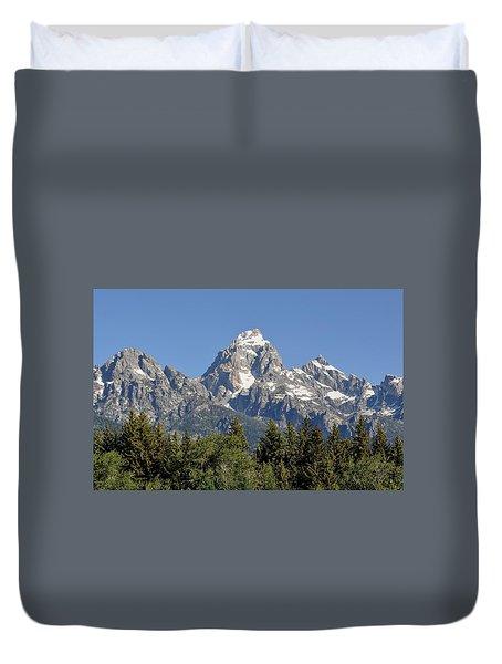 Teton Grande Duvet Cover