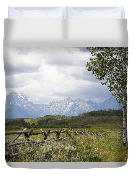Teton Ranch Duvet Cover
