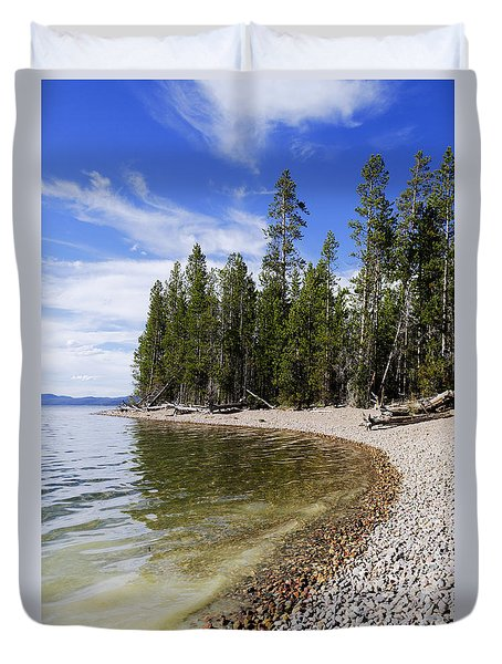 Teton Shore Duvet Cover