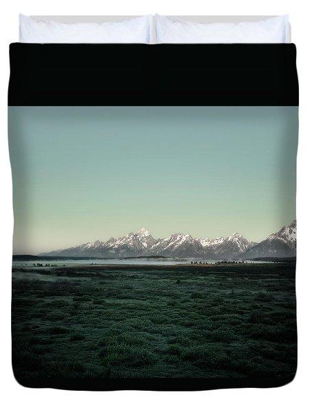 Tetons Duvet Cover