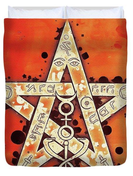 Tetragrammaton Duvet Cover