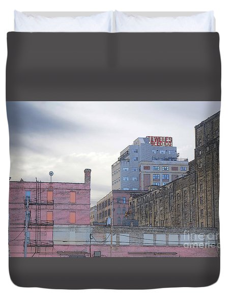 Teweles Seed Co Duvet Cover by David Blank