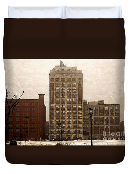 Teweles Teweles Duvet Cover by David Blank