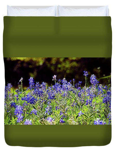 Texas Bluebonnets IIi Duvet Cover by Greg Reed