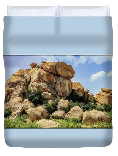 Texas Canyon Duvet Cover