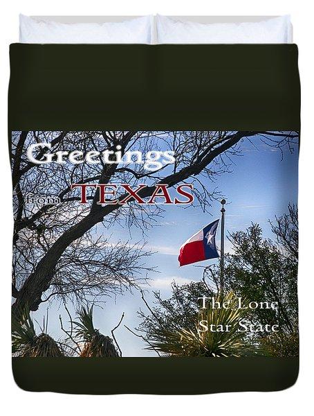 Texas  Duvet Cover