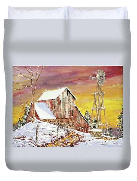Texas Coldfront Duvet Cover
