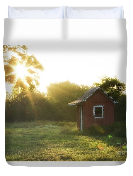 Texas Farm Duvet Cover