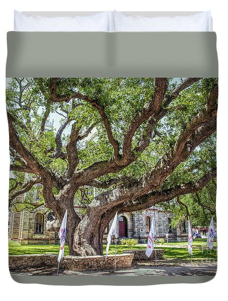 Texas Hanging Tree Duvet Cover