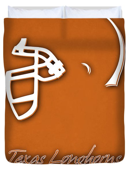 Texas Longhorns Duvet Cover