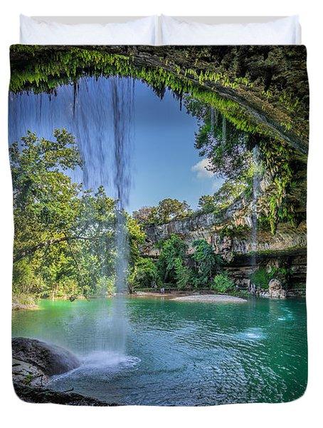Texas Paradise Duvet Cover