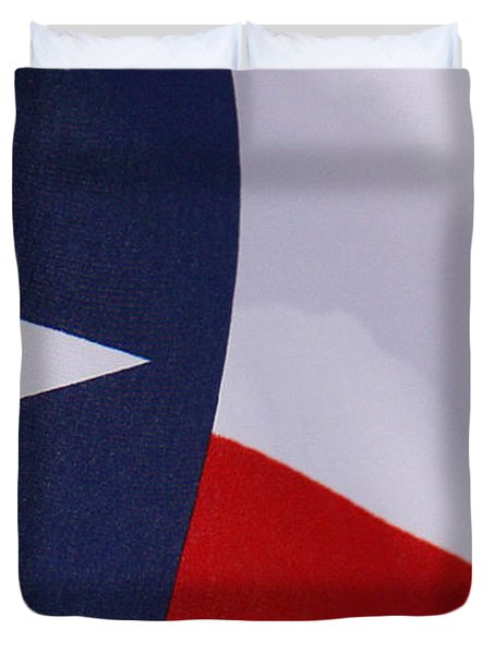 Texas Star Duvet Cover