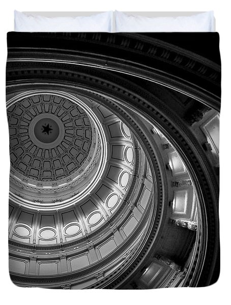 Texas State Capital Dome Austin  Duvet Cover