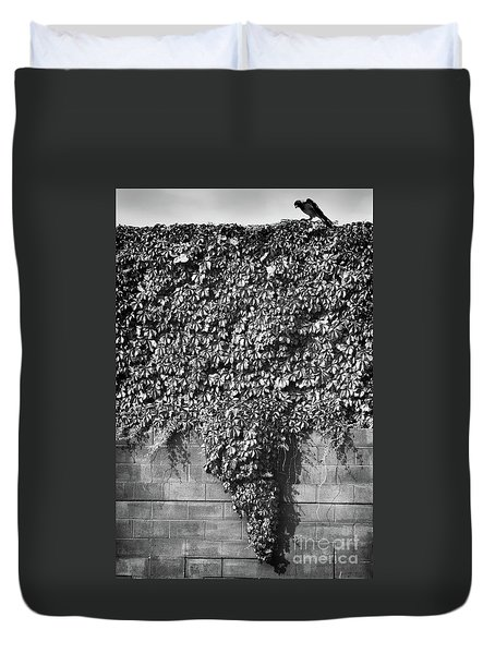 Texas Tornado Duvet Cover
