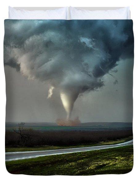 Texas Twister Duvet Cover