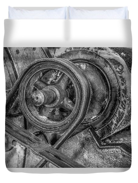 Textile Machinery Duvet Cover