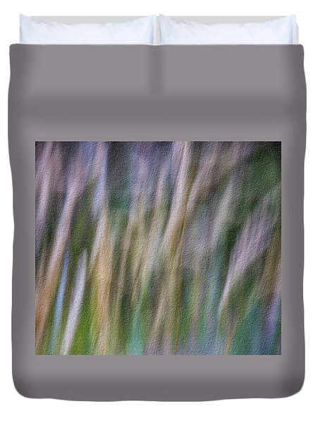Textured Abstract Duvet Cover