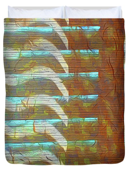Textured Patterns Duvet Cover