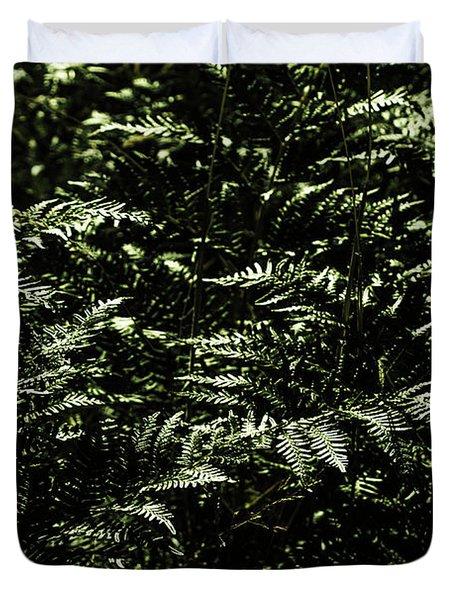 Textures Of A Rainforest Duvet Cover